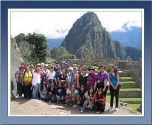 Peru adoptive families tour Machu Picchu