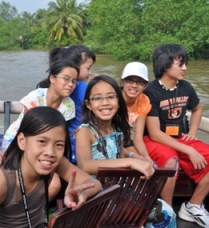 Vietnam Ties adoptees tour the Mekong Delta